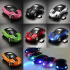 4 Mode Wireless Optical 2.4Ghz Car Shaped Mouse Mice 1600DPI USB For PC laptop