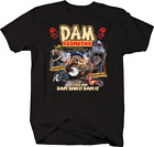 Dam Rednecks Beaver Funny Cigar Shotgun Hunting Faith Music Beer T-shirt