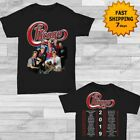 Chicago Band t shirt Concert Tour 2019 T-Shirt full size Men Black Gildan 2 side image