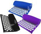 ProSource Acupressure Mat w/Pillow Back Neck Pain Relief Muscle Relaxation image
