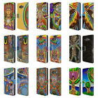 OFFICIAL CHRIS DYER SPIRITUAL LEATHER BOOK WALLET CASE FOR SAMSUNG PHONES 2