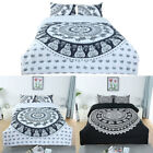 Full/Queen/King All-season Comforter Sets Bohemian Style, with 2 Pillow Cases image