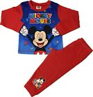 Mickey Mouse Boys Pyjamas Disney Pjs Ages 18 Months to 4 Years