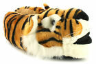Wynsors Tiger Mens Novelty Slippers Tan UK Size