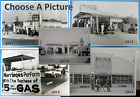 Antique Gas Stations & Service Garages  Black & White Picture  12 X 18""