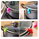 2pcs Silicone Kitchen Accessories Lift Pot Cover Overflow Device Heighter Tools