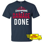 Damage Done Boston Red Sox World Series Champions 2018 Navy T Shirt S-3XL image