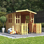 4x4 Bunny Childrens Wooden Wendy Playhouse Outdoor Cottage Playground 4ft x 4ft