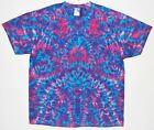 Adult TIE DYE Phantasia Blotter TShirt 5X 6X grateful dead art hippie plus sizes