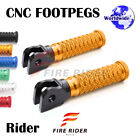 POLE Front CNC Footpegs Footrests For Triumph Speed Triple 900 97-98 97 98 $27.88 USD on eBay