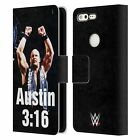 OFFICIAL WWE STEVE AUSTIN LEATHER BOOK WALLET CASE COVER FOR GOOGLE PHONES