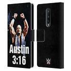 OFFICIAL WWE STEVE AUSTIN LEATHER BOOK WALLET CASE COVER FOR BLACKBERRY ONEPLUS