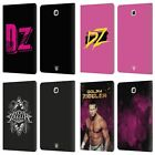 OFFICIAL WWE DOLPH ZIGGLER LEATHER BOOK WALLET CASE FOR SAMSUNG GALAXY TABLETS