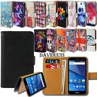 Leather Smart Stand Wallet Case Cover For Various BLU Grand Phones