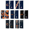 OFFICIAL NFL CHICAGO BEARS LOGO LEATHER BOOK CASE FOR APPLE iPHONE PHONES