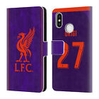 LIVERPOOL FC 2018/19 PLAYERS AWAY KIT 2 PU LEATHER BOOK CASE FOR XIAOMI PHONES