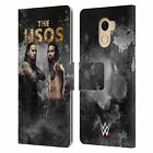 OFFICIAL WWE THE USOS LEATHER BOOK WALLET CASE COVER FOR WILEYFOX & ESSENTIAL