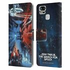 OFFICIAL STAR TREK MOVIE POSTERS TOS LEATHER BOOK CASE FOR ASUS ZENFONE PHONES