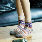 Women Faux Wool Cashmere Thick Winter Warm Ankle Socks Soft Casual Sports S