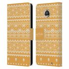 OFFICIAL FRIDA KAHLO COYOACAN PATTERNS LEATHER BOOK CASE FOR MOTOROLA PHONES