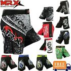 Внешний вид - MMA Shorts Grappling UFC Boxing Muay Thai Mens Cage Fight Trunks Kick Men MRX