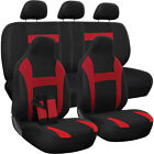 Car Seat Cover Complete Set -Truck SUV Van - Flat Poly Cloth Fabric- 10 Piece $23.42 USD on eBay
