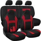 Seat Cover Complete Set for Car Truck SUV Van - Flat Poly Cloth Fabric- 10 Piece $24.99 USD on eBay