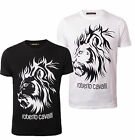 Roberto Cavalli Herren Tshirt TRIBAL FST627 LI for Men