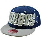 NFL Mitchell Ness Throwback Logo Retro Wordmark Fit Cap Hat TT48 Dallas Cowboys $14.59 USD on eBay