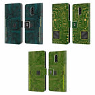 HEAD CASE DESIGNS CIRCUIT BOARDS LEATHER BOOK WALLET CASE FOR BLACKBERRY ONEPLUS