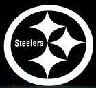Pittsburgh Steelers NFL Football Logo Vinyl Decal Sticker Car Truck Window 77082 $9.0 USD on eBay