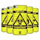 HEAD CASE DESIGNS HAZARD SYMBOLS HARD BACK CASE FOR APPLE iPOD TOUCH MP3