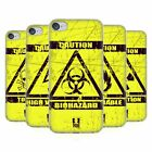 HEAD CASE DESIGNS HAZARD SYMBOLS SOFT GEL CASE FOR APPLE iPOD TOUCH MP3