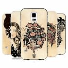 HEAD CASE DESIGNS INTROSPECTION GOLD BUMPER SLIDER CASE FOR SAMSUNG PHONES