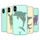 HEAD CASE DESIGNS PATTERNED ANIMAL SILHOUETTES GEL CASE FOR APPLE iPHONE PHONES