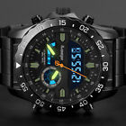 INFANTRY Mens LED Military Sport Digital Analog Wrist Watches Chronograph Rubber image