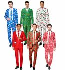 Mens Oppo Suitmeister Christmas Festive Fancy Dress Costume Suit Adult Outfit