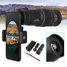16x52 Zoom Optical HD Lens Monocular Telescope Camera + Clip For Universal Phone