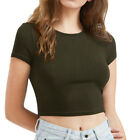 Womens Zipped V Neck Plaid Checked T Shirt Casual Top Blouse Pocket Plus Size HH