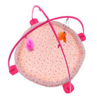 Pet Tent Cat Bed Portable Puppy Cat Play Mat with Hanging Toys