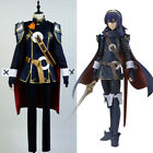 Fire Emblem Awakening/Fates Lucina Cosplay Army Suit Costume Battle Outfit Dress