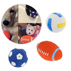 Pet Dog Chew Toys - Interactive Chewing Ball Toys - Dog Squeaky Chew Toy