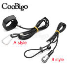 1X Bungee Tied Shock Cord Kayak Canoe Secure Fishing Rod Lanyard Paddle Leash