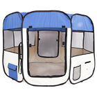 Portable Pet Dog Puppy Cat House Tent Playpen Exercise Fence Folding Travel Cage