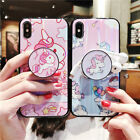 Unicorn Case Cover Shell With Pop Up Holder For iPhone XS MAX XR X 6 7 8 Plus US