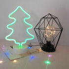 Night Light LED Neon Sign Home Bedroom Party Decor Desk Stand Table Lamp