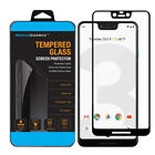 For GOOGLE Pixel 3 XL & 3 Tempered Glass Screen Protector FULL COVERAGE