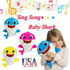 2019 Baby Shark Plush Singing Plush Toys Music Doll English Song Toy Gift US