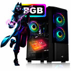 Gaming PC AMD FX 8350™ 8x 4.2 GHz 8GB Ram SSD Windows 10 Computer Komplett Gamer