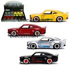 Jada 1:32 JDM Tuners 1974 Mazda RX-3 30959 Black / Red / Silver / Yellow Display